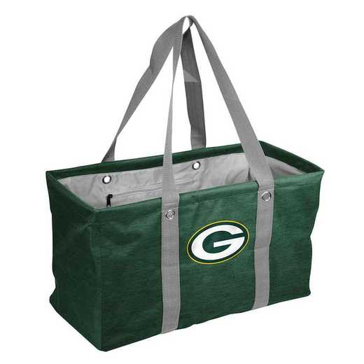 612-765-CR1: Green Bay Packers Crosshatch Picnic Caddy