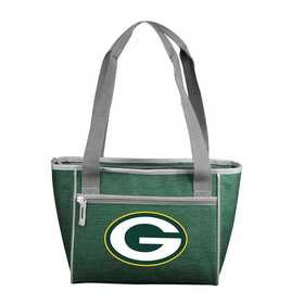 612-83-CR1: Green Bay PackersCrosshatch 16 Can Cooler Tote