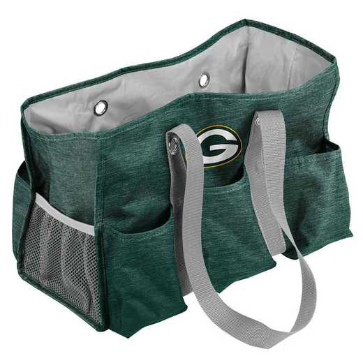 612-865-CR1: Green Bay Packers Crosshatch Jr Caddy