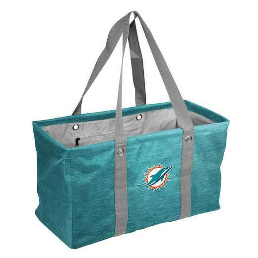 617-765-CR1: Miami Dolphins Crosshatch Picnic Caddy