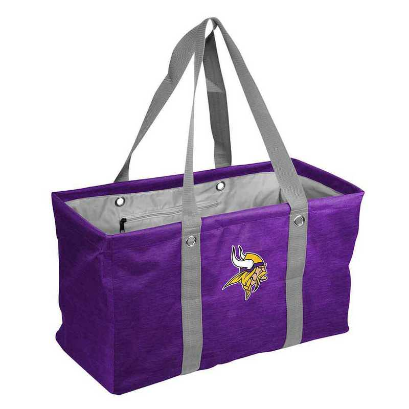 618-765-CR1: Minnesota Vikings Crosshatch Picnic Caddy