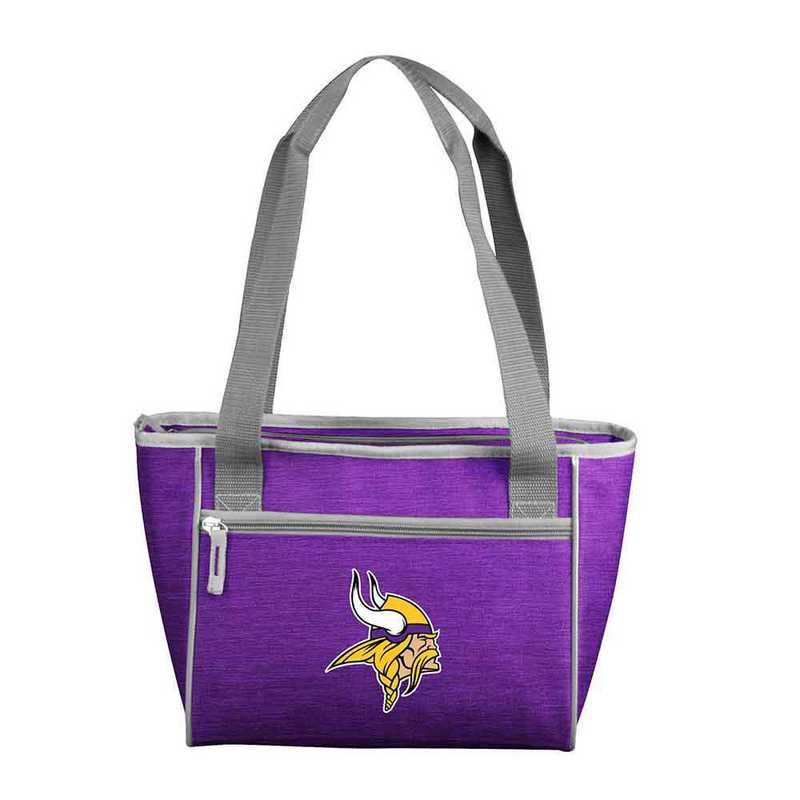 618-83-CR1: Minnesota Viking Crosshatch 16 Can Cooler Tote