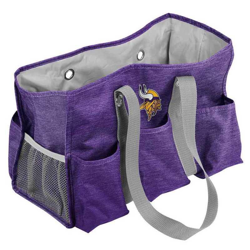 618-865-CR1: Minnesota Vikings Crosshatch Jr Caddy