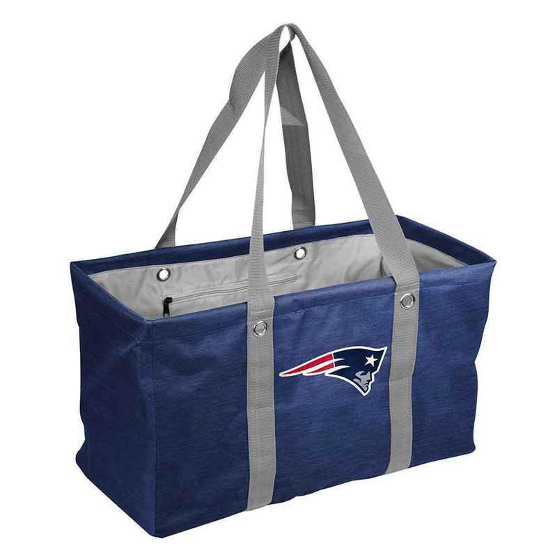 619-765-CR1: New England Patriots Crosshatch Picnic Caddy