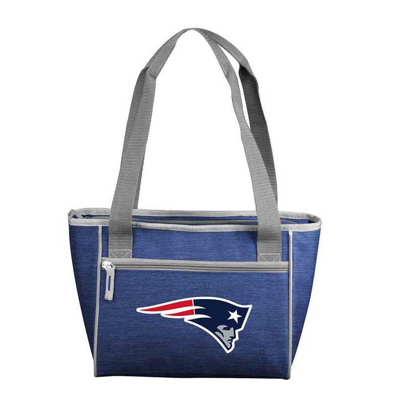 619-83-CR1: NewEnglandPatriot Crosshatch 16 Can Cooler Tote