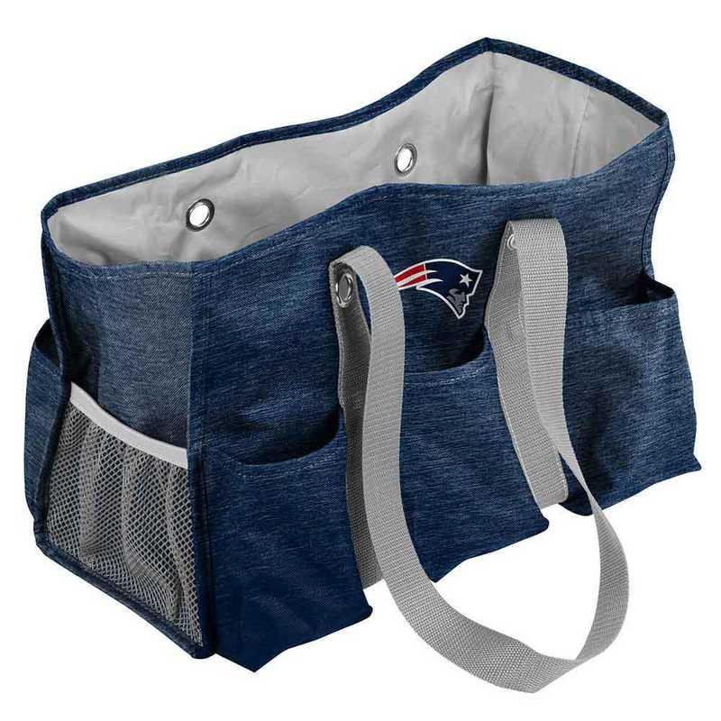 619-865-CR1: New England Patriots Crosshatch Jr Caddy