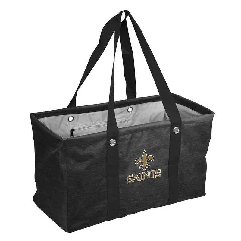 620-765-CR1: New Orleans Saints Crosshatch Picnic Caddy