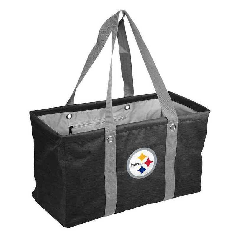 625-765-CR1: Pittsburgh Steelers Crosshatch Picnic Caddy