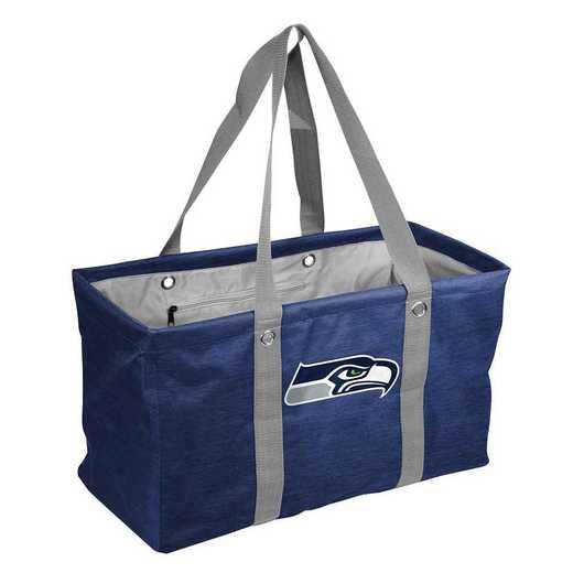 628-765-CR1: Seattle Seahawks Crosshatch Picnic Caddy