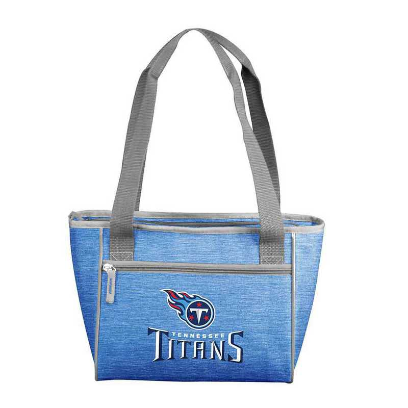 631-83-CR1: Tennessee Titan Crosshatch 16 Can Cooler Tote