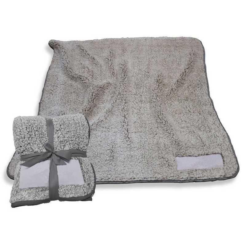001-25F-CHARCOAL: Plain Charcoal Trim Frosty Fleece