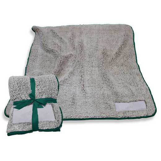 001-25F-HUNTER: Plain Hunter Trim Frosty Fleece