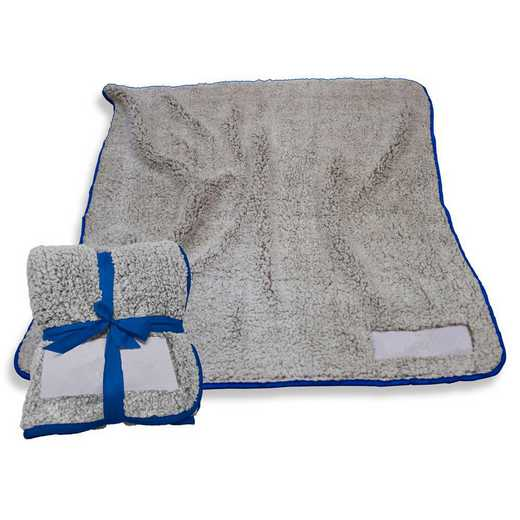 001-25F-ROYAL: Plain Royal Trim Frosty Fleece