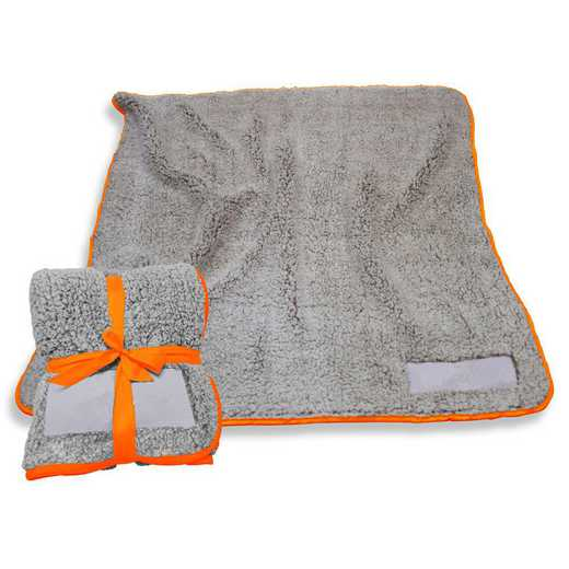 001-25F-TANGERINE: Plain Tangerine Trim Frosty Fleece