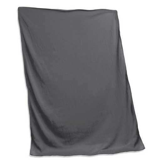 001-74-CHARCOAL: Plain Charcoal Sweatshirt Blanket