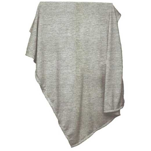 001-74-GRAY: Plain Gray Sweatshirt Blanket