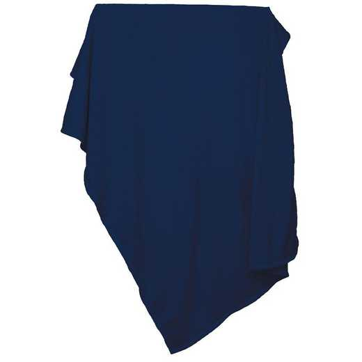001-74-NAVY: Plain Navy Sweatshirt Blanket