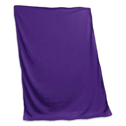 001-74-PURPLE: Plain Purple Sweatshirt Blanket