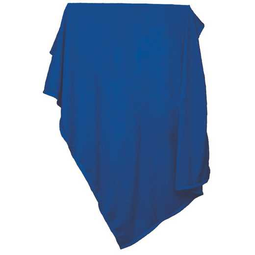 001-74-ROYAL: Plain Royal Sweatshirt Blanket