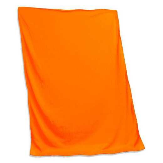 001-74-TANGERINE: Plain Tangerine Sweatshirt Blanket