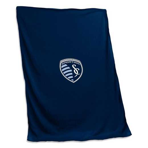 908-74S: Sporting Kansas City Sweatshirt Blanket (Screened)