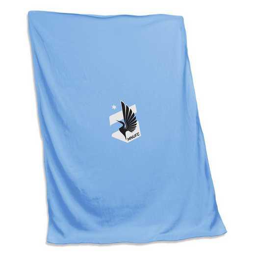 924-74S: Minnesota United Sweatshirt Blanket (Screened)