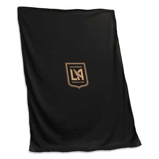 925-74S: Los Angeles FC Sweatshirt Blanket (Screened)