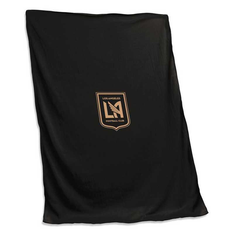 925-74S: Los Angeles FC Sweatshirt Blanket (Screened)