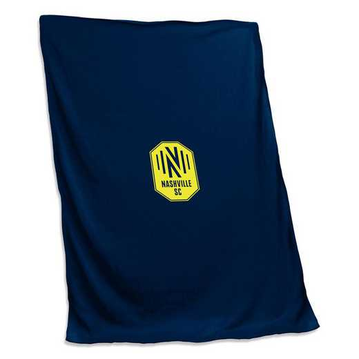 926-74S: Nashville SC Sweatshirt Blanket (Screened)