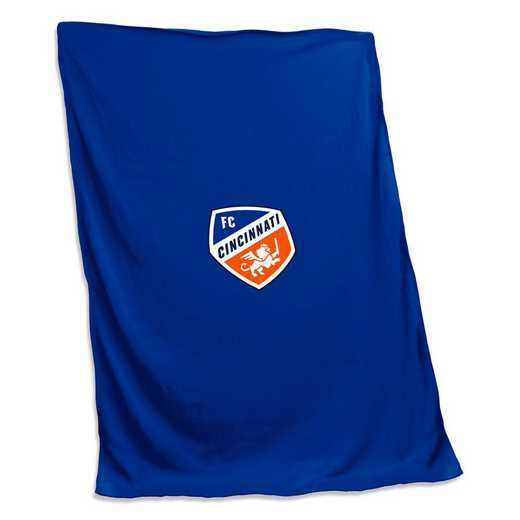 930-74S: FC Cincinnati Sweatshirt Blanket (Screened)
