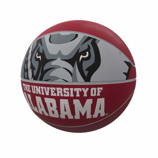 102-91FR-1: Alabama Mascot Official-Size Rubber Basketball