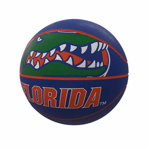 135-91FR-1: Florida Mascot Official-Size Rubber Basketball