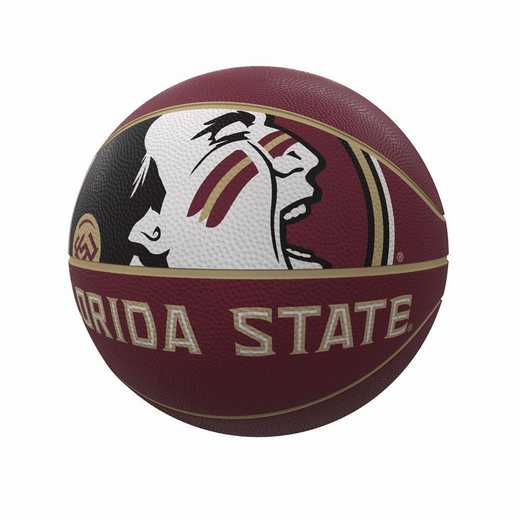 136-91FR-1: FL State Mascot Official-Size Rubber Basketball
