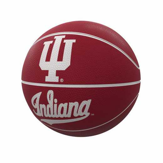 153-91FR-1: Indiana Mascot Official-Size Rubber Basketball