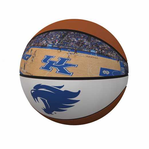 159-91FP-1: Kentucky Official-Size Photo Basketball