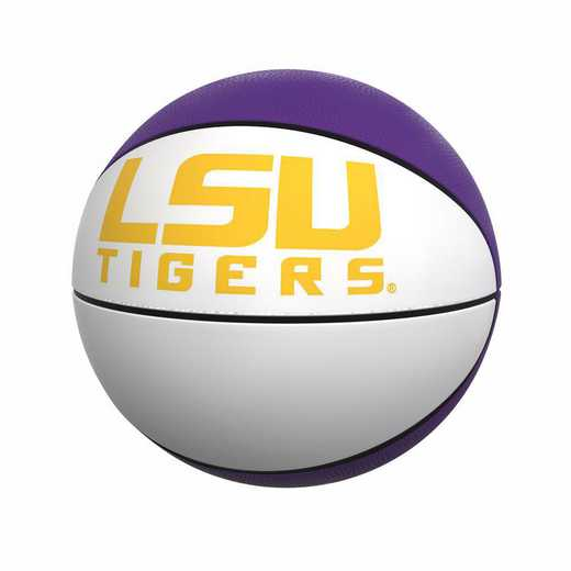 162-91FA-1: LSU Official-Size Autograph Basketball