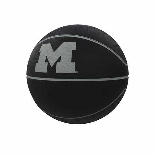 171-91FC-1: Michigan Blackout Full-Size Composite Basketball