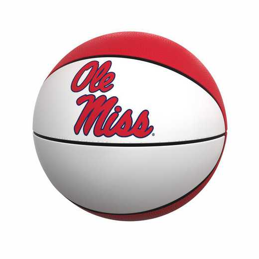 176-91FA-1: Ole Miss Official-Size Autograph Basketball