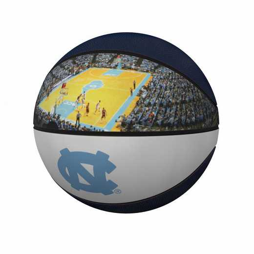 185-91FP-1: North Carolina Official-Size Photo Basketball