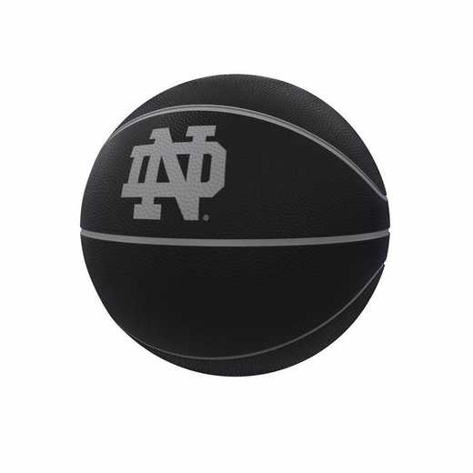 190-91FC-1: Notre Dame Blackout Full-Size Composite Basketball
