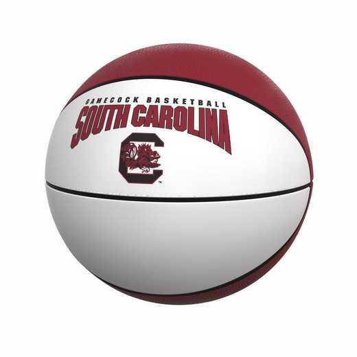 208-91FA-1: South Carolina Official-Size Autograph Basketball
