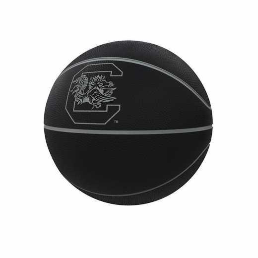 208-91FC-1: South Carolina Blackout Full-Size Composite Basketball