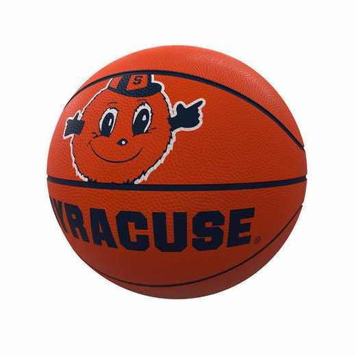 214-91FR-1: Syracuse Mascot Official-Size Rubber Basketball