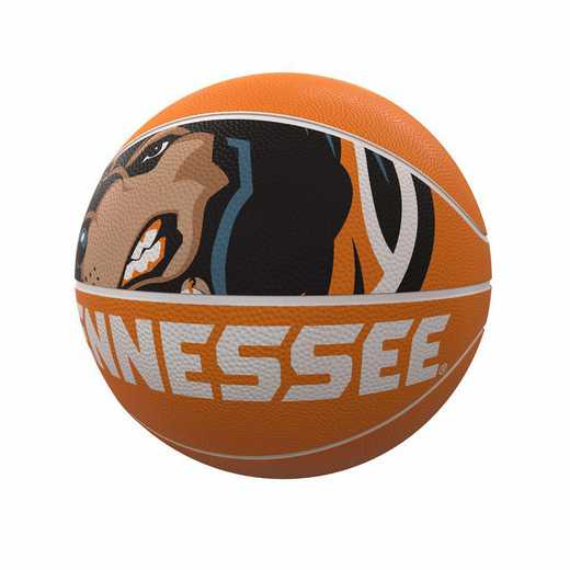 217-91FR-1: Tennessee Mascot Official-Size Rubber Basketball