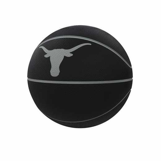 218-91FC-1: Texas Blackout Full-Size Composite Basketball