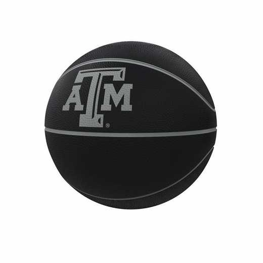219-91FC-1: TX A&M Blackout Full-Size Composite Basketball