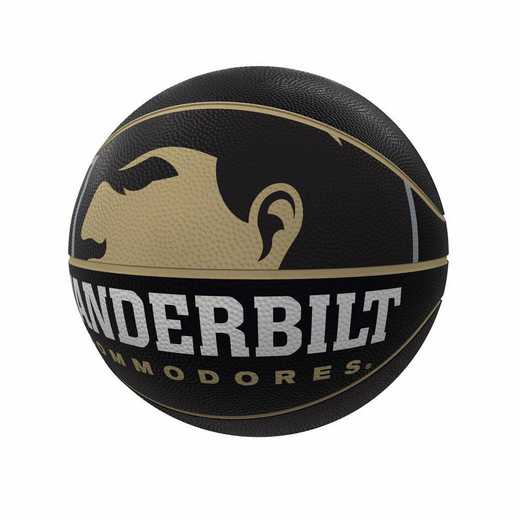 232-91FR-1: Vanderbilt Mascot Official-Size Rubber Basketball