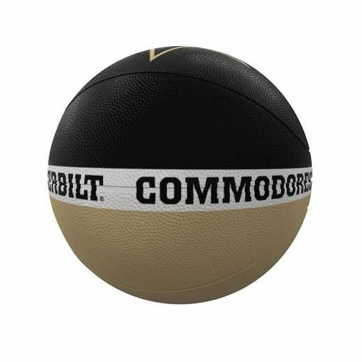 232-91FR-2: Vanderbilt Court Official-Size Rubber Basketball