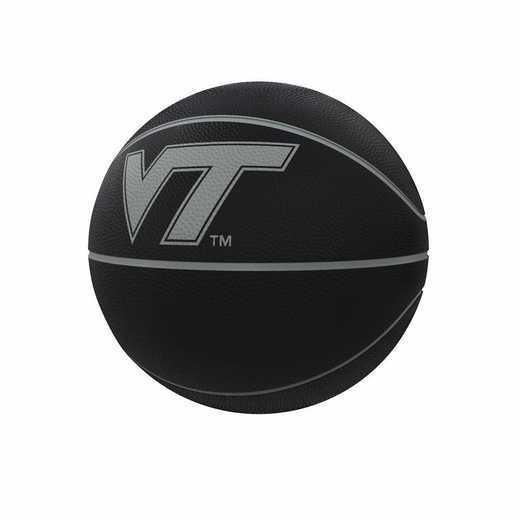 235-91FC-1: Virginia Tech Blackout Full-Size Composite Basketball