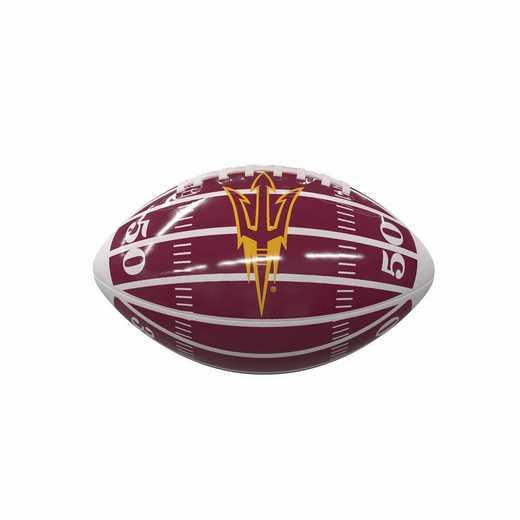107-93MG-2: AZ State Field Mini-Size Glossy Football